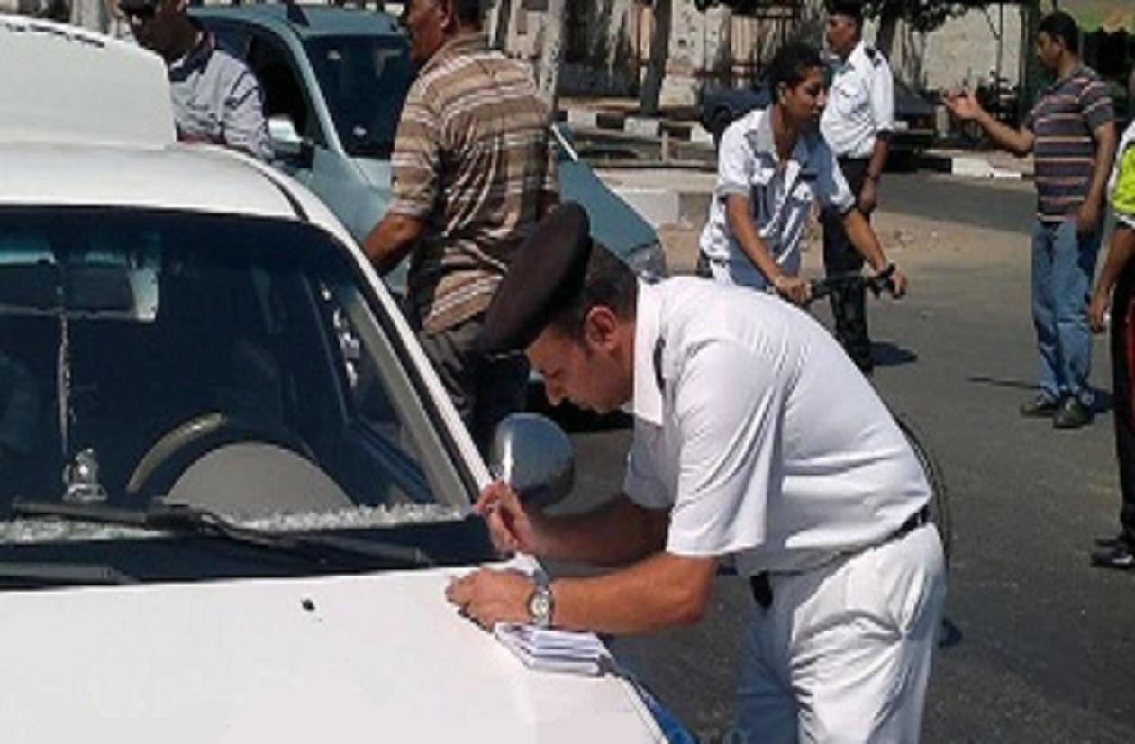 صورة غرامات الرقم الجديد , مخالفات وغرامات الارقام الجديدة للسيارات