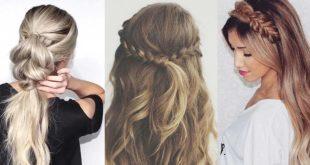 صور تسريحات الشعر للبنات سهلة , تعرفى على اسهل واروع تسريحات للشعر