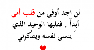 كلمات عن حب الام , الام هي اعظم ما ف الوجود