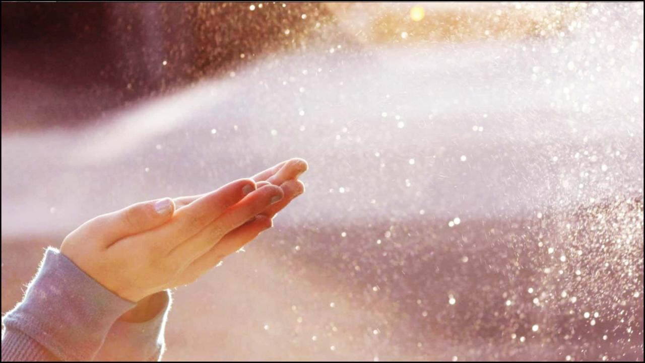 صورة تفسير الدعاء تحت المطر في المنام لابن سيرين , معني رؤية شخص يدعي وقت المطر