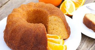 طريقة عمل كيكة البرتقال بالصور , كيك البرتقال الهش