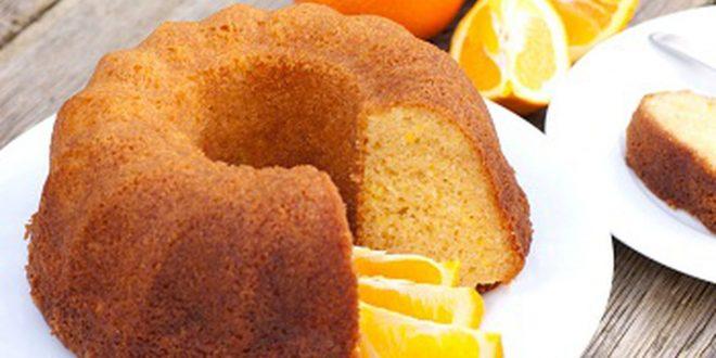 صور طريقة عمل كيكة البرتقال بالصور , كيك البرتقال الهش