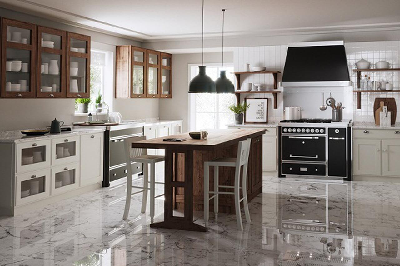 صورة ديكور مطابخ مودرن , نظم مطبخك بطريقة مريحة و بسيطة
