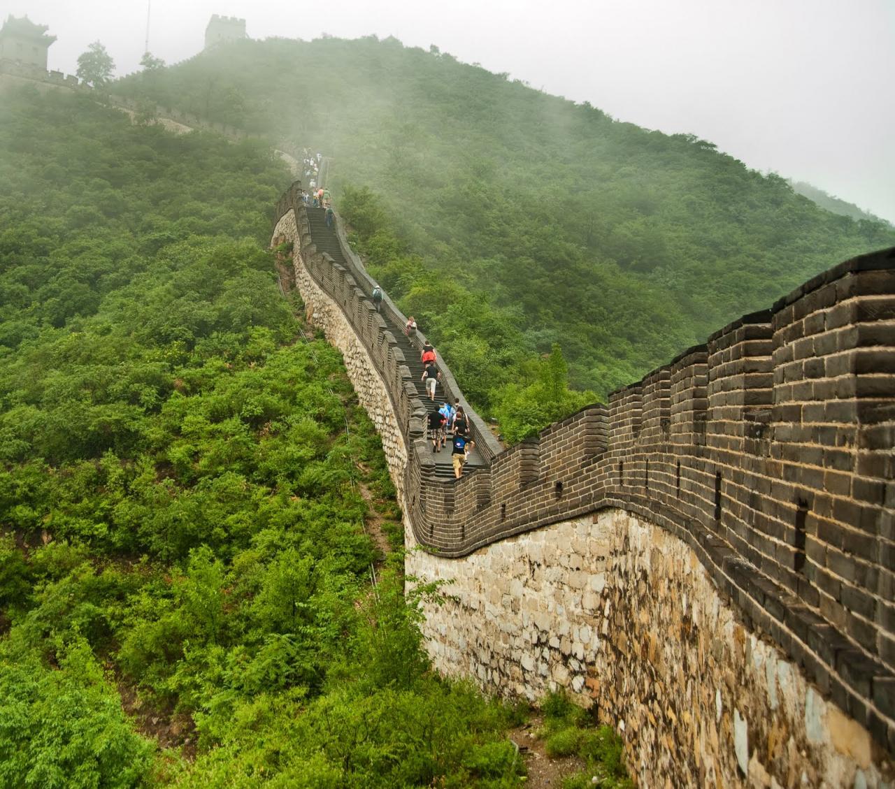 صورة صور سور الصين العظيم , من عجائب الدنيا السبع سور الصين العظيم