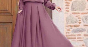 فساتين نساء محجبات , احلي الفساتين المحتشمه