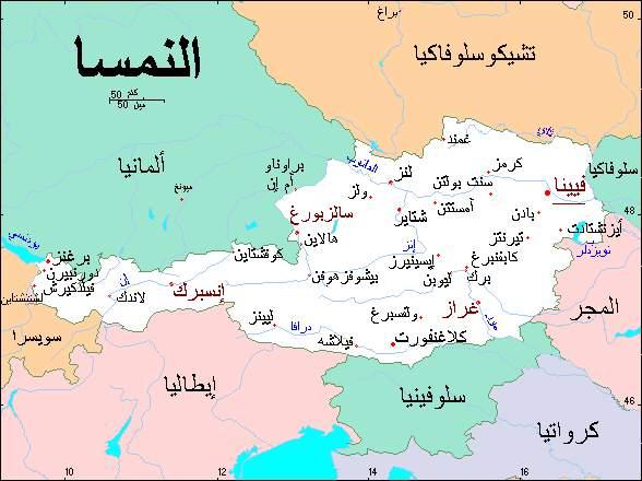 خريطة التشيك والدول المجاورة اين توجد التشيك حنان خجولة