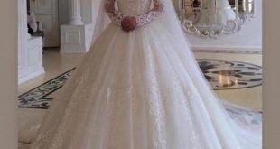 فساتين اعراس عربية , احصلي علي اطلاله الاميرات يوم زفافك
