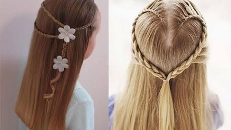 صورة تسريحات الشعر للبنات سهلة , جملى شعرك بتسريحة سريعة و بسيطة