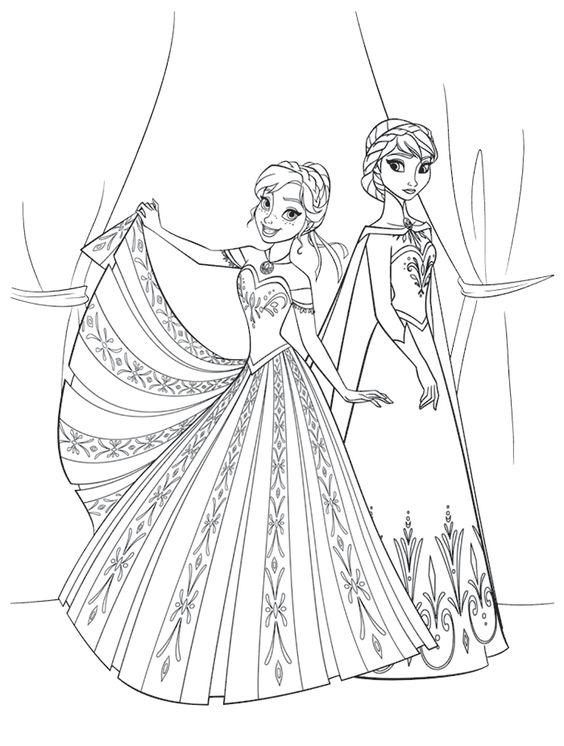 الأكثر شعبية جودة عالية رموز الترويجي رسومات تلوين فستان