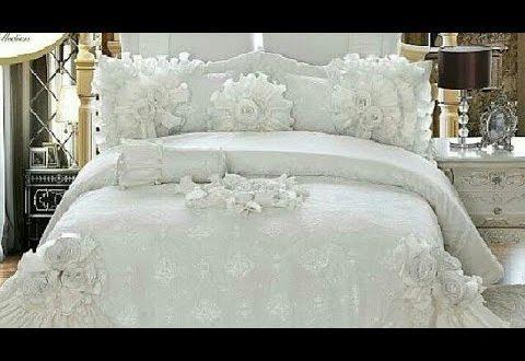 صورة مفرش سرير تركي , احلي مفارش للعرائس