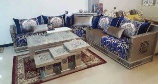 صورة طاولات الصالون المغربي , واو ما اجمل تصميمات الصالون المغربي