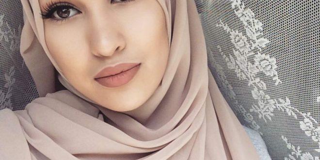 صورة لفات حجاب بسيطة وانيقة , اشيك لفات الطرح الانيقة