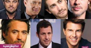 صورة اجمل ممثلي هوليود , قائمة باشهر الممثلين والممثلات في السينما الامريكية