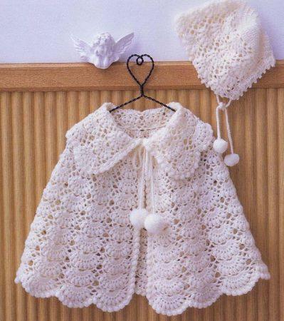 صورة ملابس اطفال كروشيه , شغل يدوي كروشيه رائع للصغار بنات وولاد