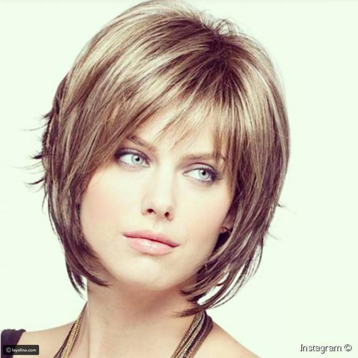 صورة احدث قصات الشعر للشعر القصير , تالقي باجمل قصة رائعة اذا كان شعرك قصير