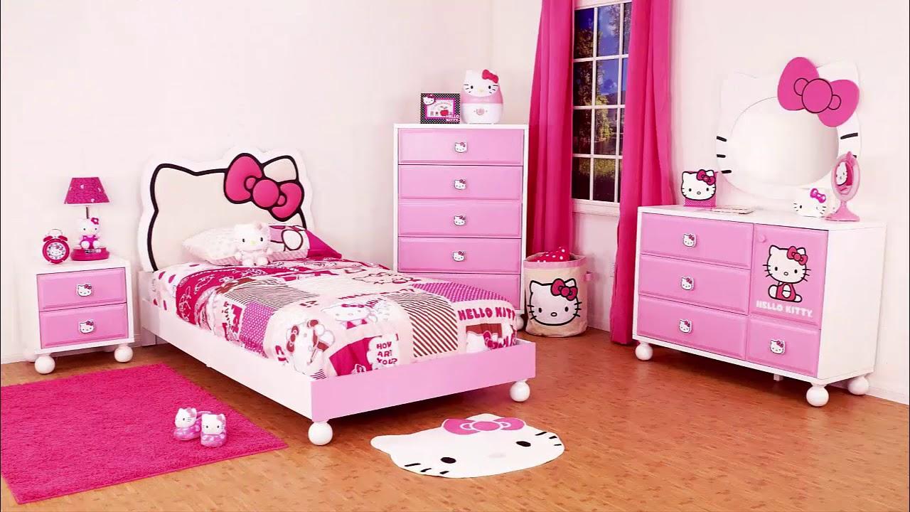 صورة غرف هيلو كيتي , للبنات بس لوحدهم حجرة نوم بناتي من كيتي 933 3
