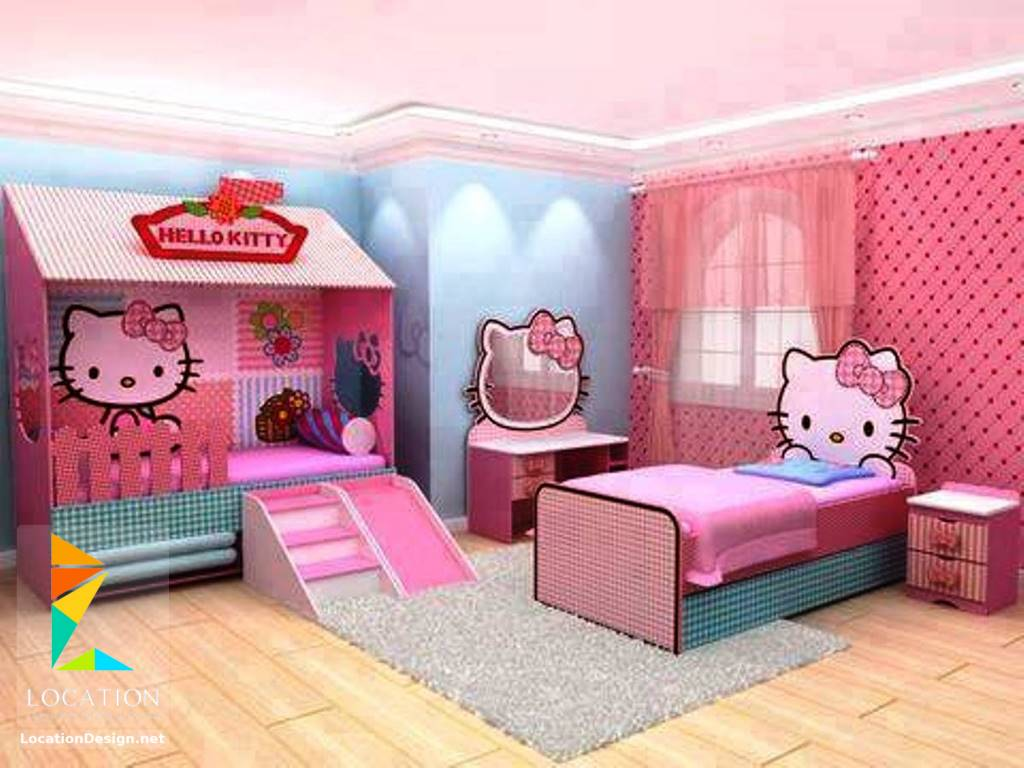 صورة غرف هيلو كيتي , للبنات بس لوحدهم حجرة نوم بناتي من كيتي 933 4