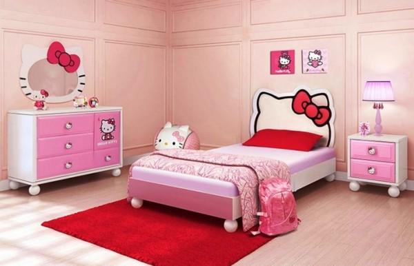 صورة غرف هيلو كيتي , للبنات بس لوحدهم حجرة نوم بناتي من كيتي 933 6