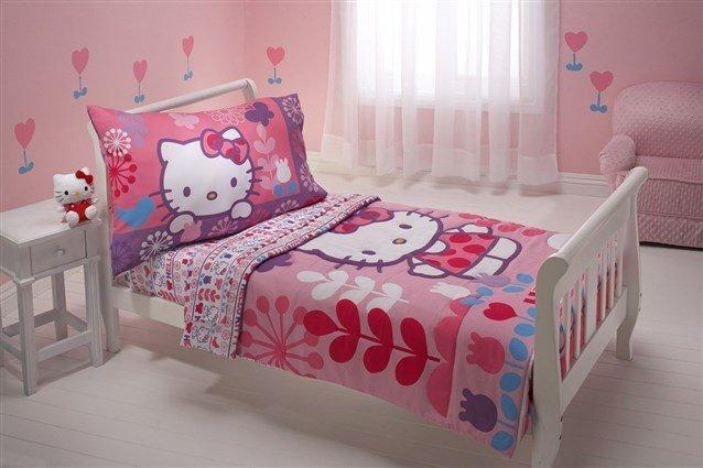 صورة غرف هيلو كيتي , للبنات بس لوحدهم حجرة نوم بناتي من كيتي 933 8