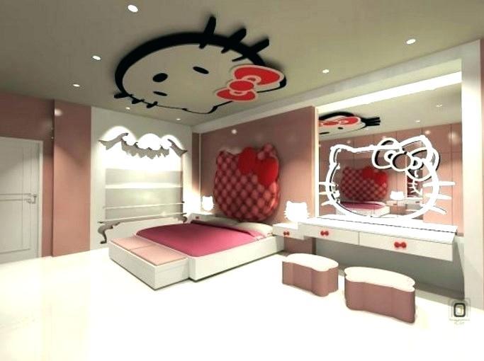صورة غرف هيلو كيتي , للبنات بس لوحدهم حجرة نوم بناتي من كيتي 933