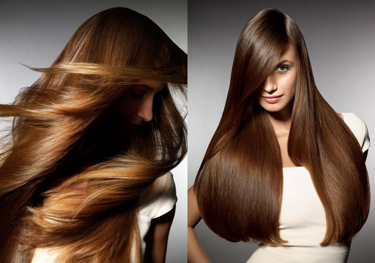 صورة تطويل الشعر بدون خلطات , خطوات بسيطة لشعر طويل و صحى