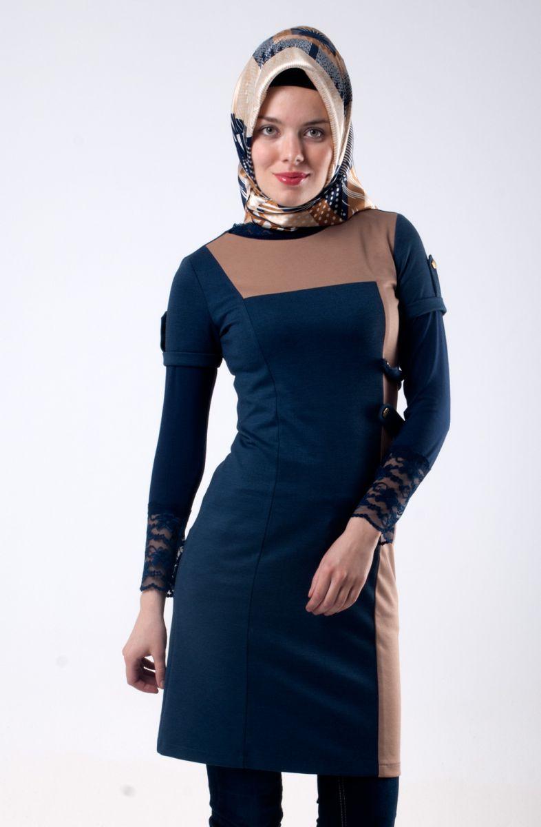 صورة ملابس كاجول للمحجبات , اشيك لبس كاجوال يناسب حجابك 1572 4