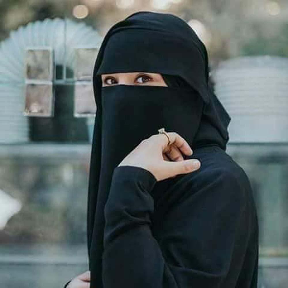 صورة اشكال نقاب شيك , كملى شيكتك بلبس النقاب الموضه