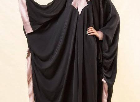 صورة تصميم عبايات خليجية , روعه العبايه الخليجى