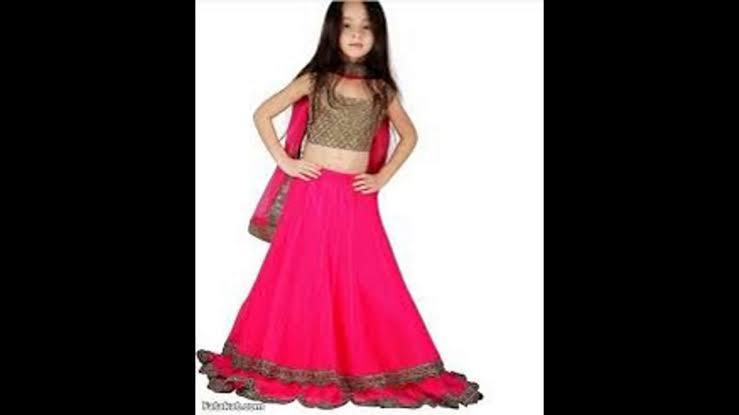 صورة لبس هندي بناتي , واو ما اروع لبس الهنود 1794 4