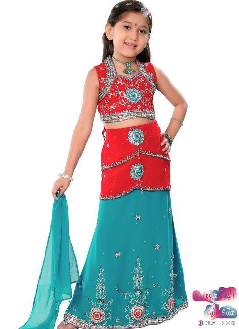صورة لبس هندي بناتي , واو ما اروع لبس الهنود 1794 5