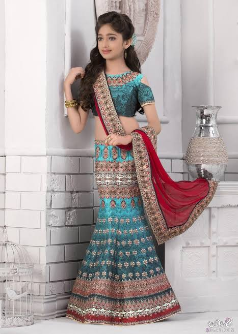 صورة لبس هندي بناتي , واو ما اروع لبس الهنود 1794 9