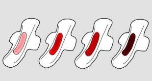 اسباب الدم الاسود اثناء الدورة , عادة ما يكون هناك دم لونه اغمق من المعتاد ما السبب