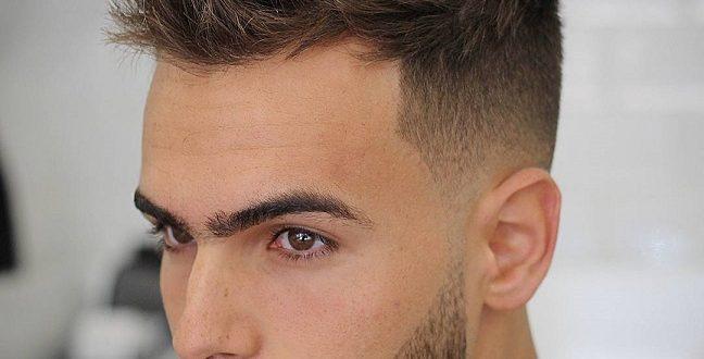صورة تسريحة شعر رجالي , تالق ايها الرجل بهذا الشكل لكل تسريحة