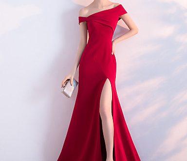 صورة اجمل فساتين السهرة الطويلة , بكل شياكة واناقة فستان طويل