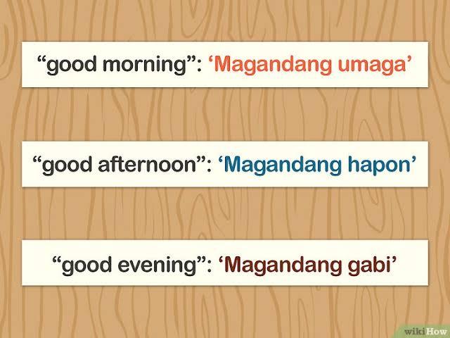 صباح الخير بالفلبيني ماجدونج اماقا هذه هي صباح الخير بلغة الفلبين حنان خجولة