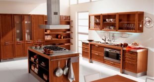 صورة انواع خشب المطبخ , اشيك استيلات المطابخ المودرن