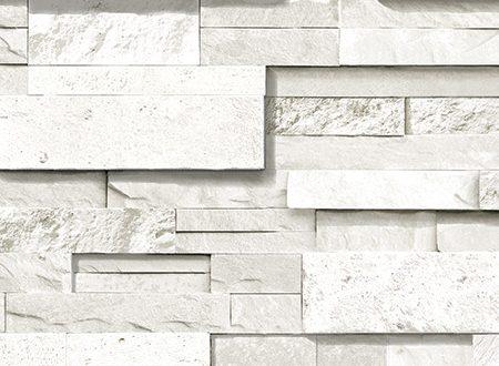 صورة ورق جدران حجر ابيض , غيري الوان البيت بكل سهوله