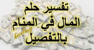 صورة طلب المال في المنام لابن سيرين , ماذا يعني حب المال في الحلم