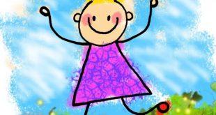 صورة شعر عن الطفولة قصير , براءة عمر الزهور والطفولة الجميلة