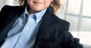 صورة صور اطفال بشعر , جاذبية الشعر الطويل في الاطفال ايضا