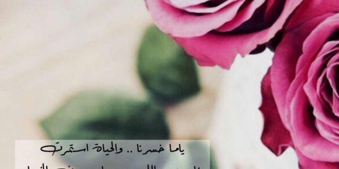 صورة كلمات في الورد , ورود ورموز للحب تجنن