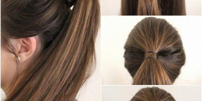 صورة اسهل تسريحة شعر , طرق متميزة لتصفيف الشعر