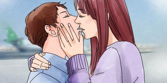 صورة تفسير البوسة من الفم في المنام , قبلة في حلمك ماتفسيرها