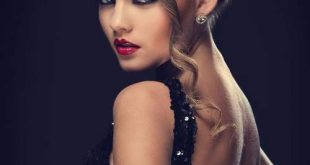 صورة مكياج الفستان الاسود , ملك الملوك حبيب النساء في السهرات