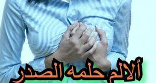 صورة وجع حلمة الصدر , اسباب ومشاكل حلمة الصدر