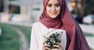 صورة صور بنات محجبه رقيقه , اجمل لفات الحجاب الرقيقه