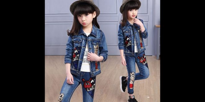 صورة اطقم جينز للاطفال , كولكشن جينز للاطفال واو