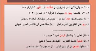 صورة امثلة عن الاستعارة , بعض قواعد اللغة العربية عن الاستعارة