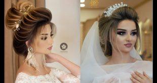 صورة صور تسريحات العروس,احدث اشكال التسريحات الجديده
