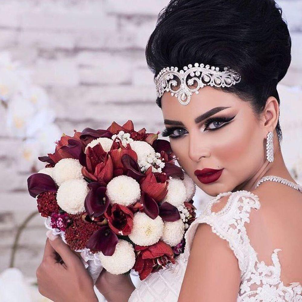 صورة صور مكياج للعرايس,اجمل لوكات ميكب العروسه